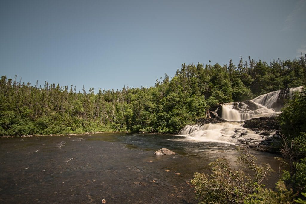 Baker's Brook Falls