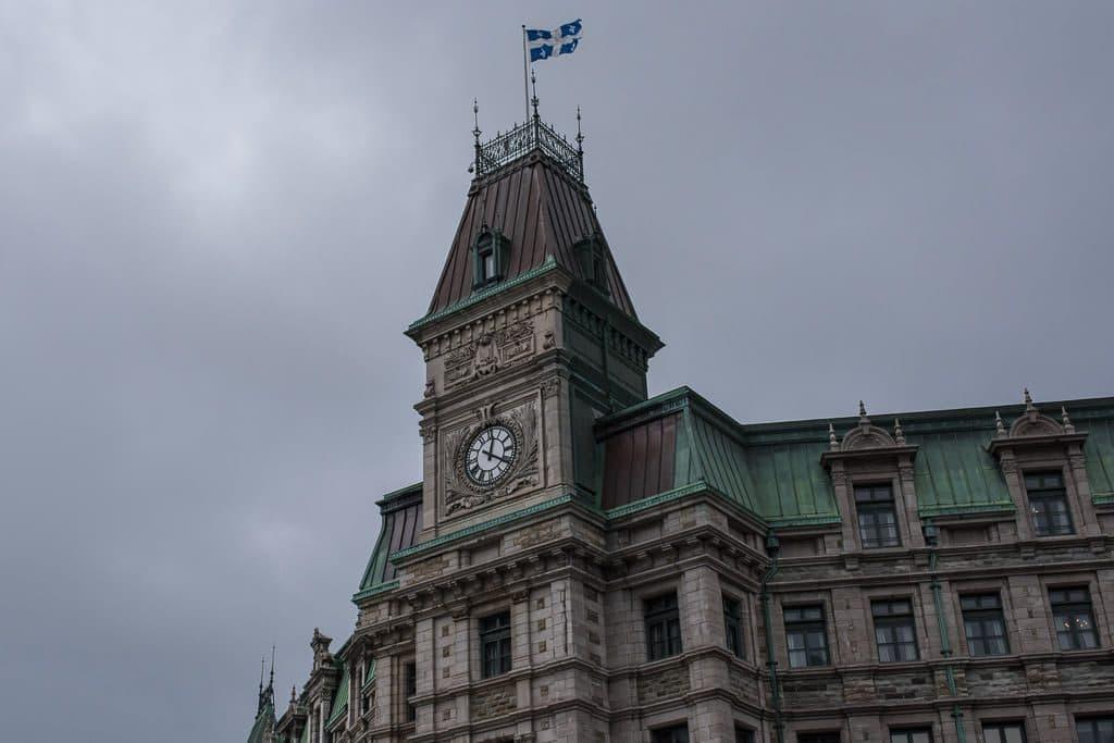 Historic building in Quebec City