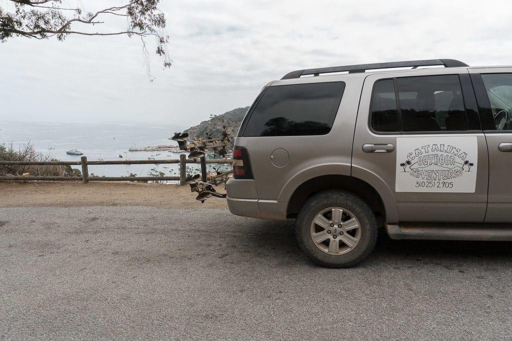 Catalina Outdoor Adventures Tour SUV