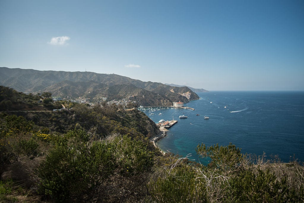 You can also camp here, if you'd like to spend even more time getting to know the interior. (Catalina Outdoor Adventures can set you up for camping, too!)