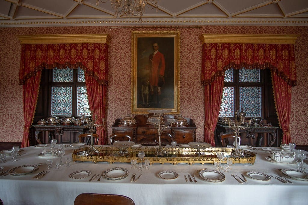 Dining Room in Kilkenny Castle
