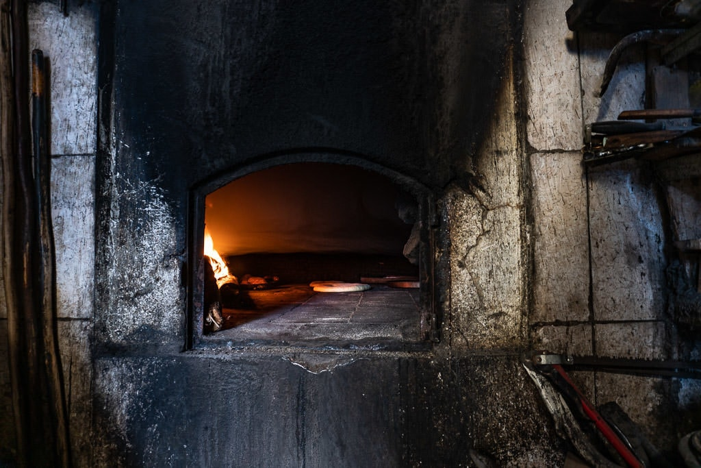 communal bread oven in tangier