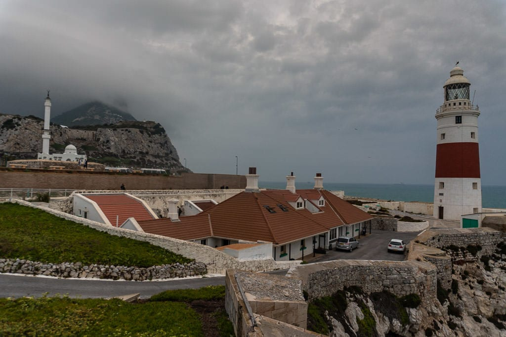 europa point lighthouse on quick trip to gibraltar