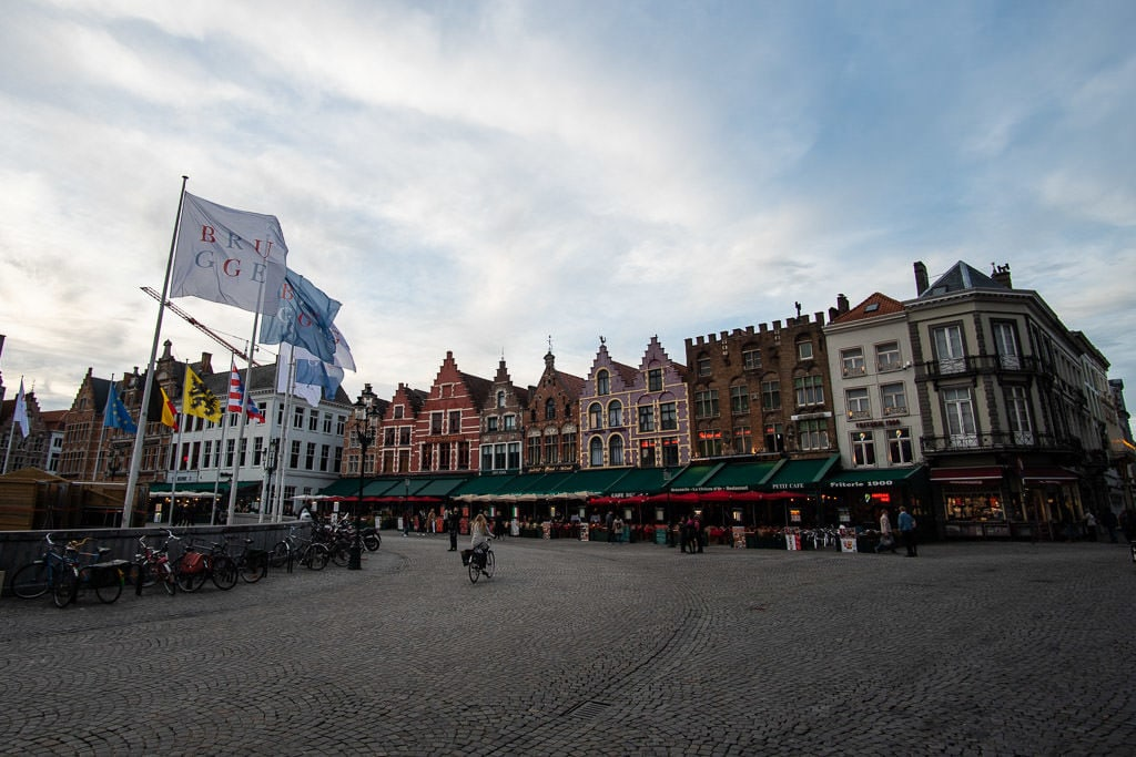 downtown explorations during two day weekend in bruges