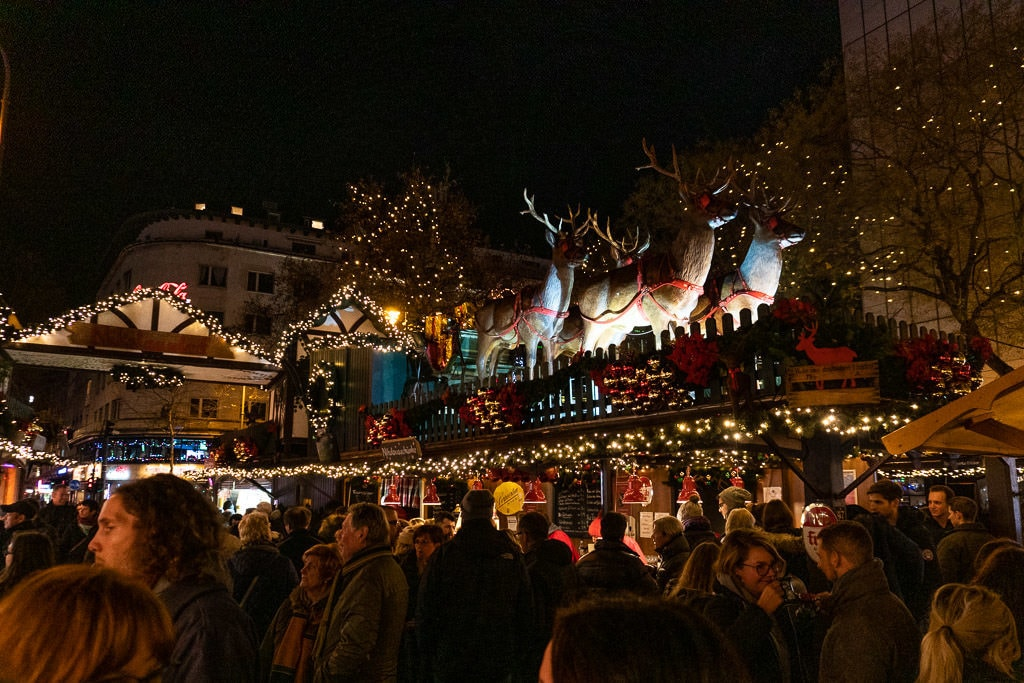 cologne rudolf christmas market in germany