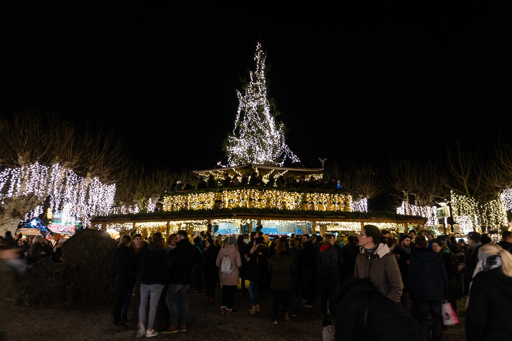 lake constance lighted tree for christmas