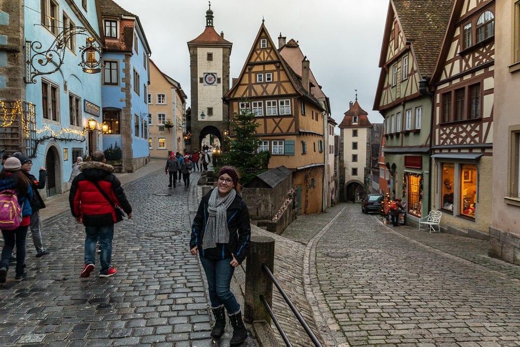 exploring the iconic german town of rothenburg