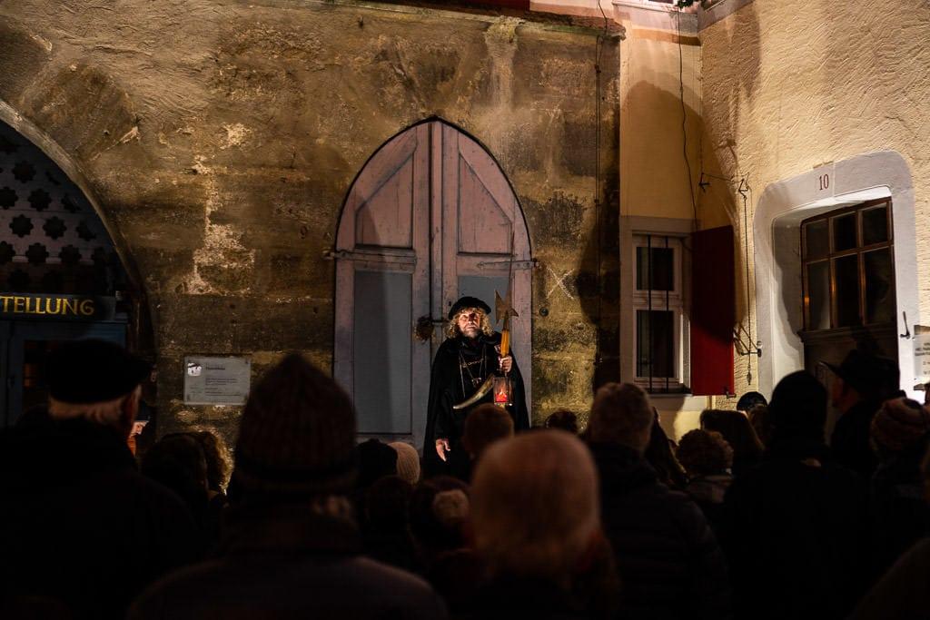 night watchman tour in rothenburg