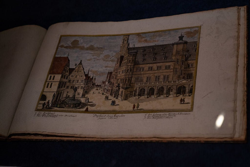historic photos in rothenburg museum