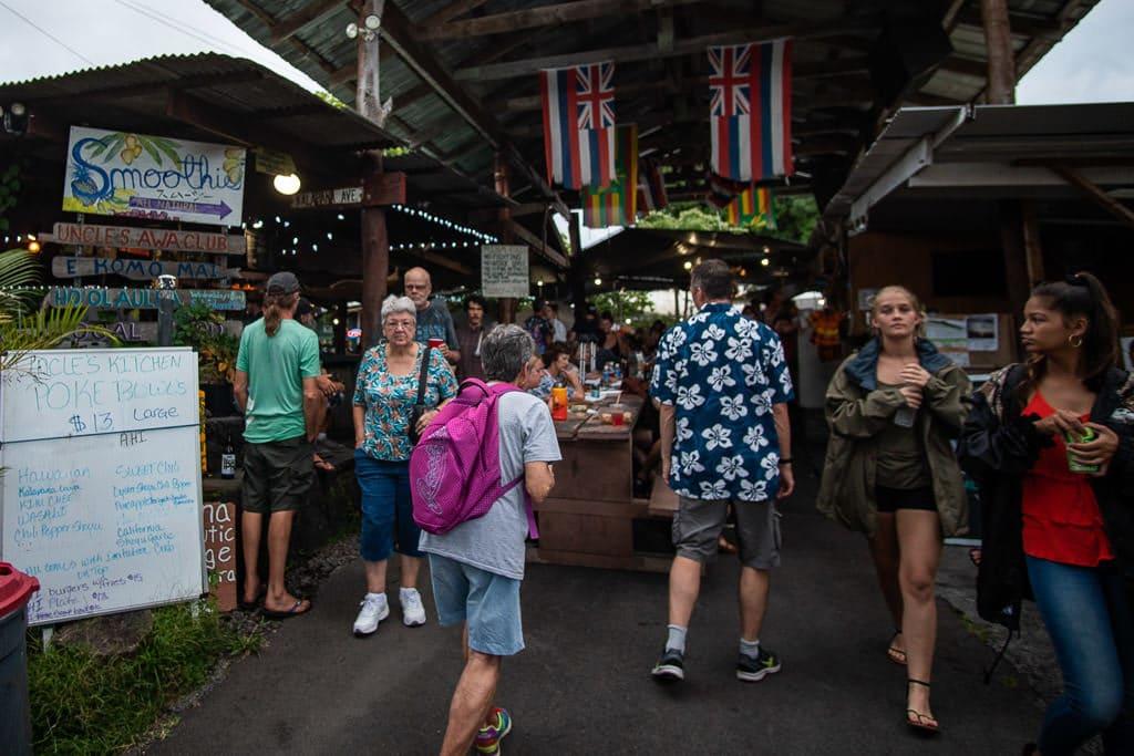 uncle roberts night market pahoa hawaii