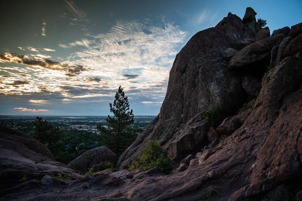 boulder getaway hike to settler's park