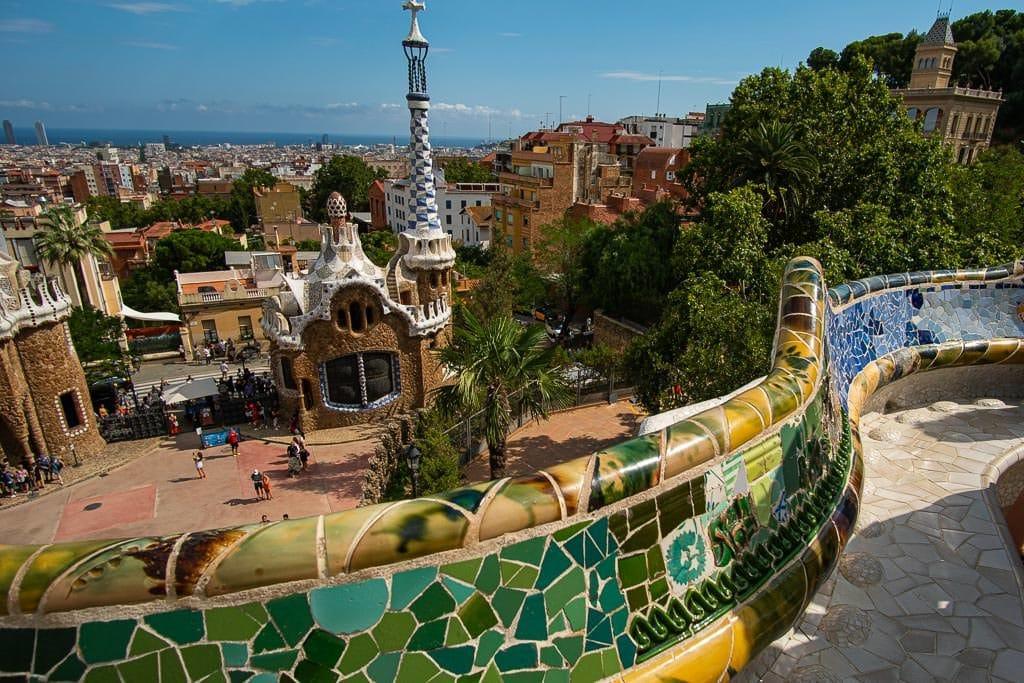barcelona layover - park guell
