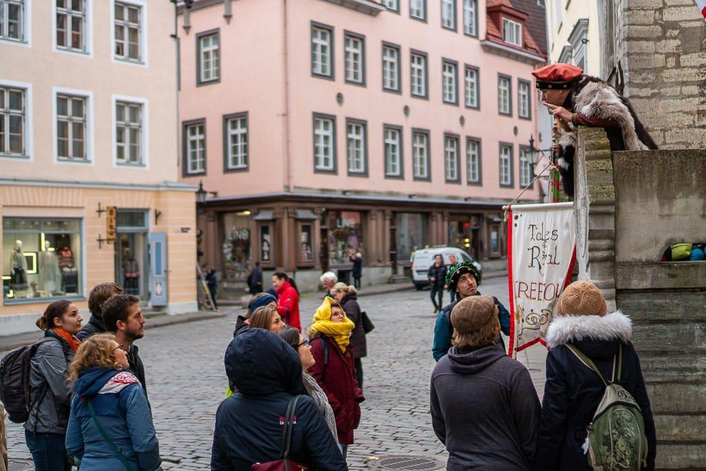 Free walking tour of Tallinn, Estonia with Tales of Reval