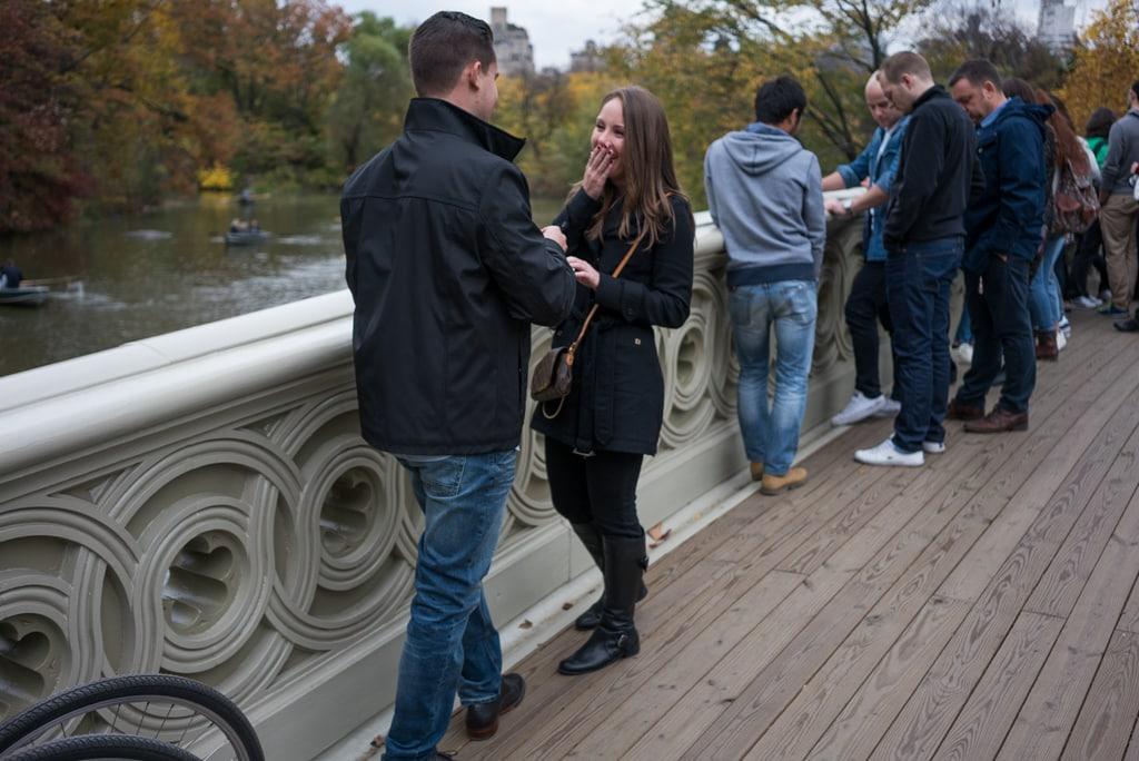 Photo 3 Central Park - Bow Bridge secret proposal. | VladLeto