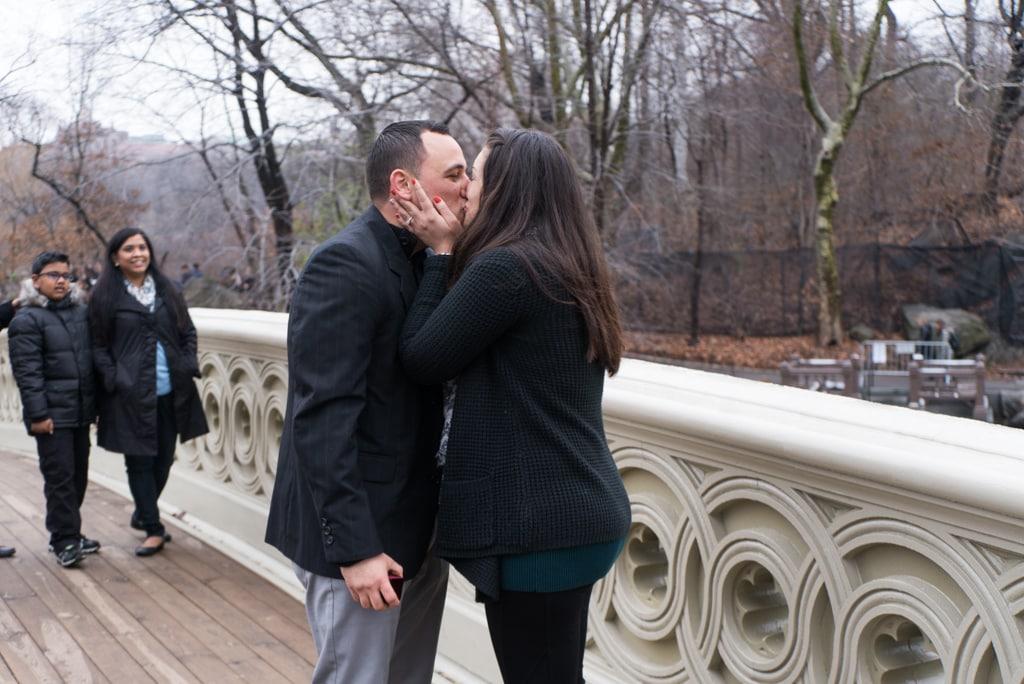 Photo 4 Bow bridge marriage proposal in NY | VladLeto
