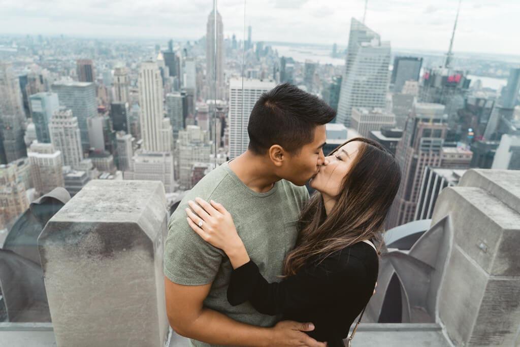 Photo 10 Top of The Rock Surprise Proposal   VladLeto