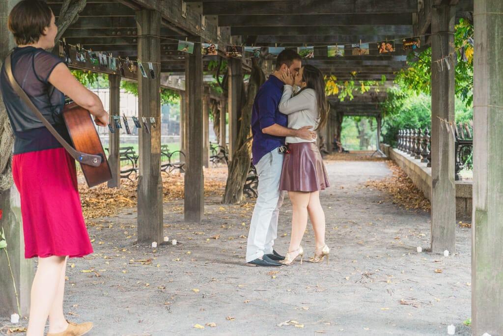 Photo 4 Central Park Marriage Proposal.   VladLeto