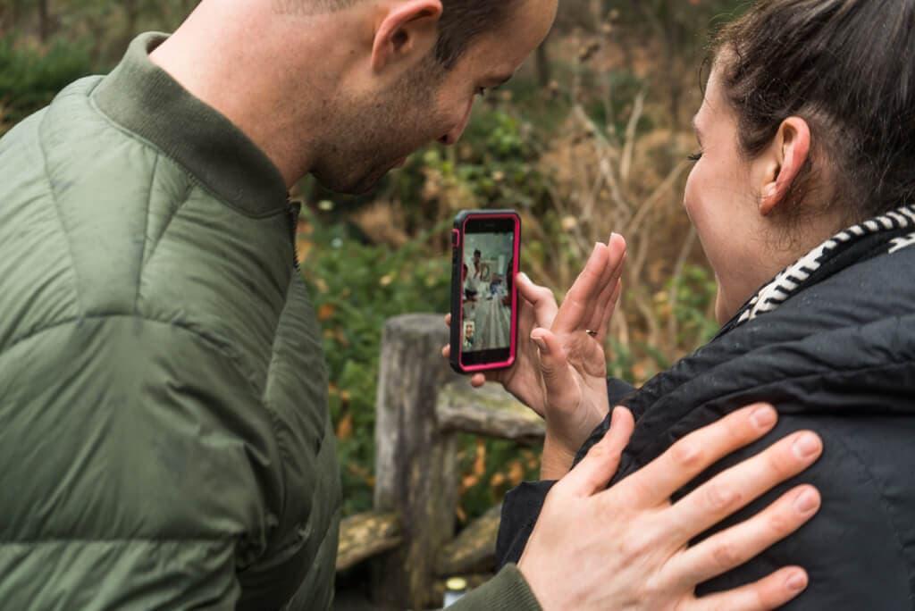 Photo 3 Shakespeare Garden Surprise Proposal   VladLeto