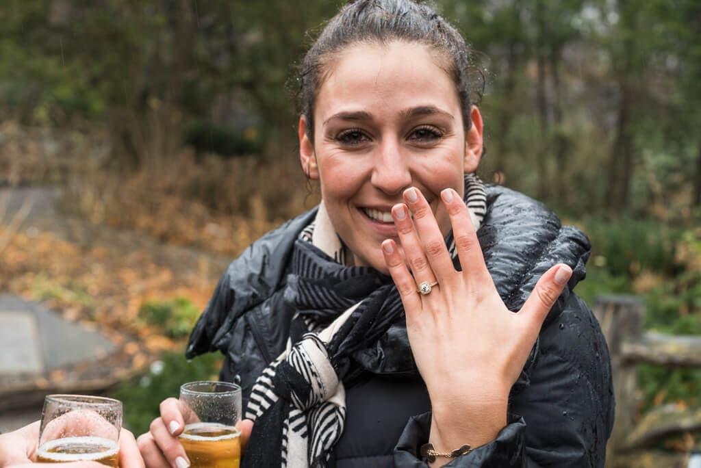 Photo 4 Shakespeare Garden Surprise Proposal   VladLeto