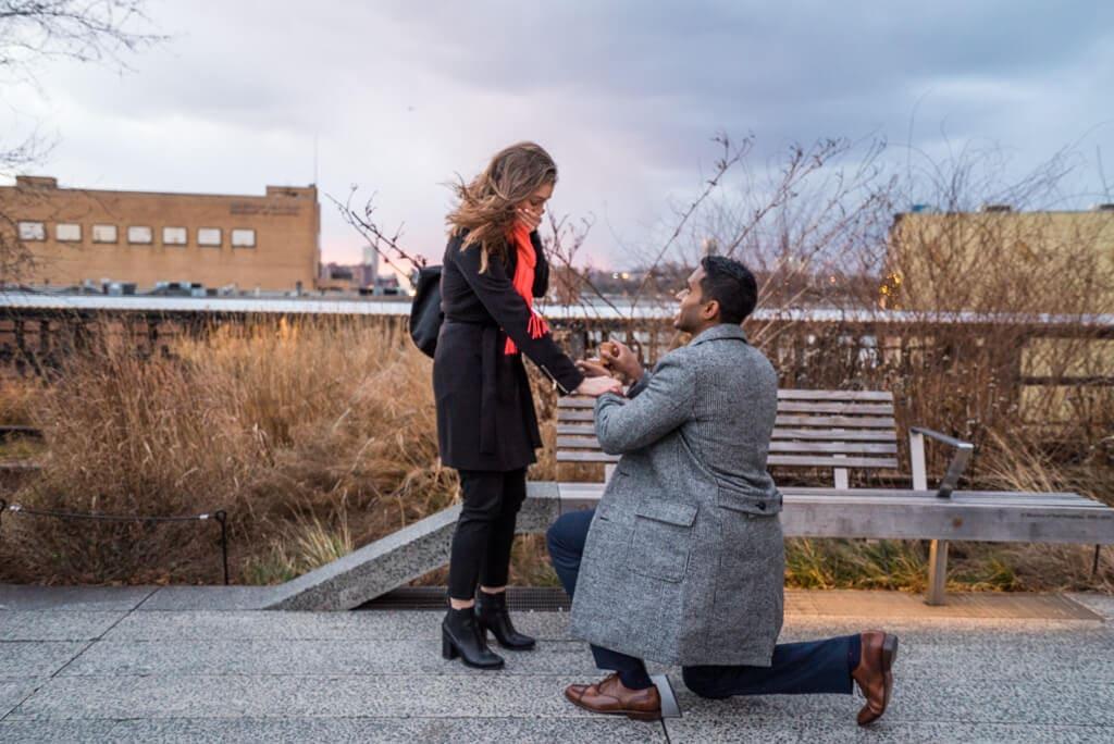 Photo 3 High Line Marriage Proposal 2 | VladLeto