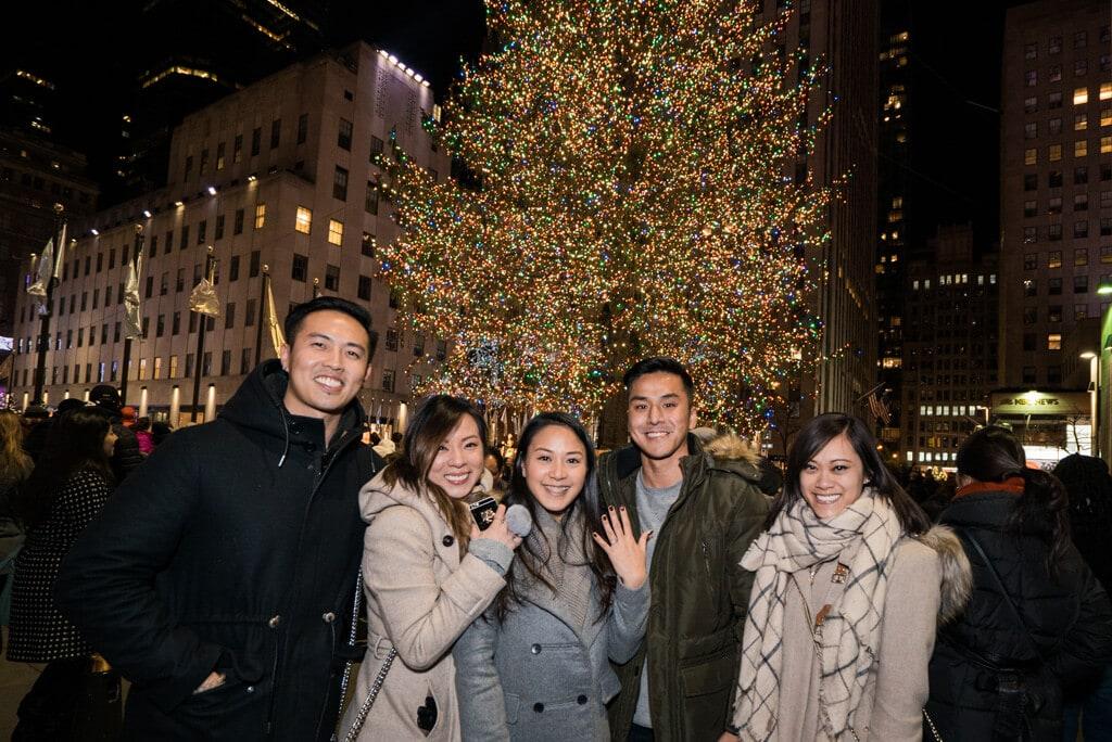 Photo 6 Christmas Tree Marriage Proposal | VladLeto
