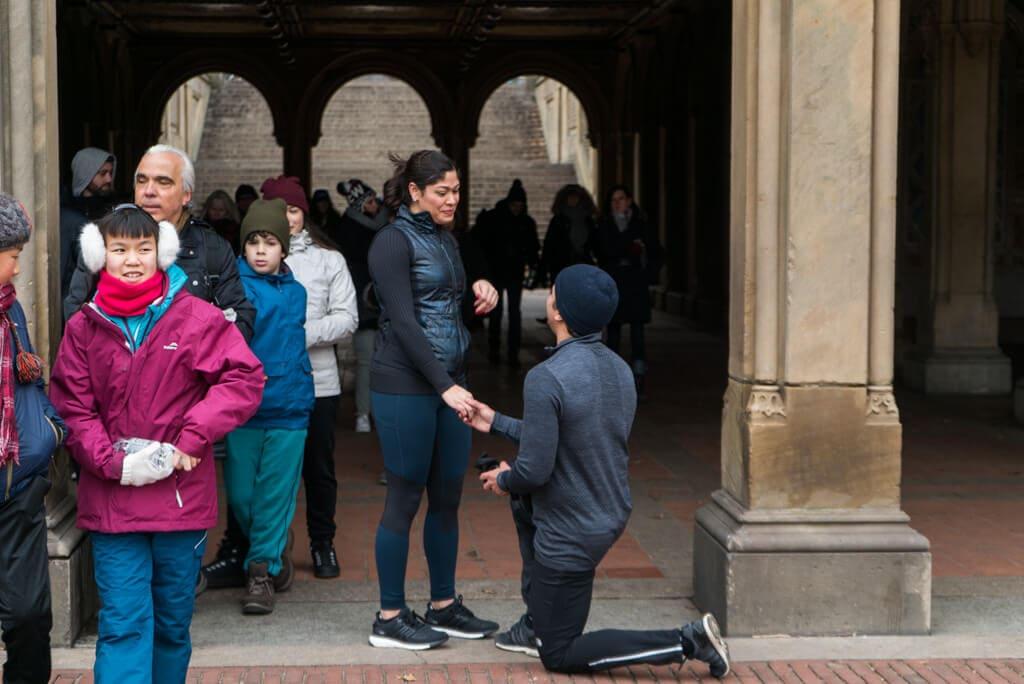 Photo 3 Central Park Bethesda Terrace Marriage Proposal   VladLeto