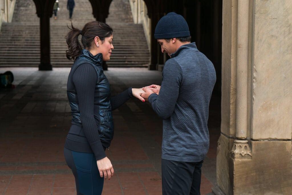 Photo 4 Central Park Bethesda Terrace Marriage Proposal   VladLeto