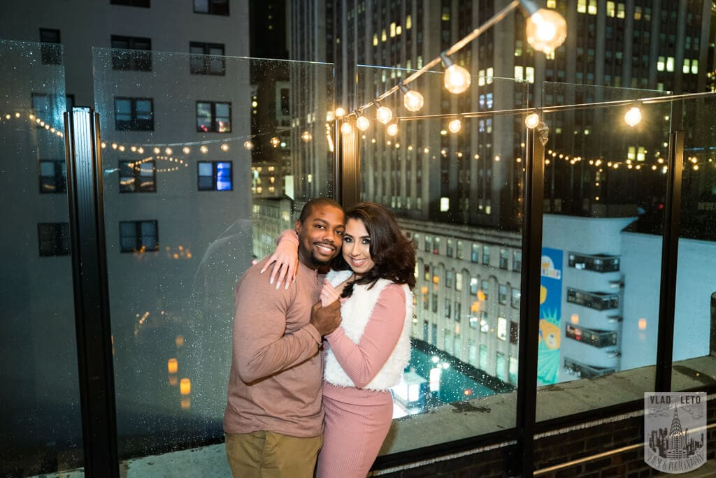 Photo 8 Rooftop Proposal with Empire State view | VladLeto