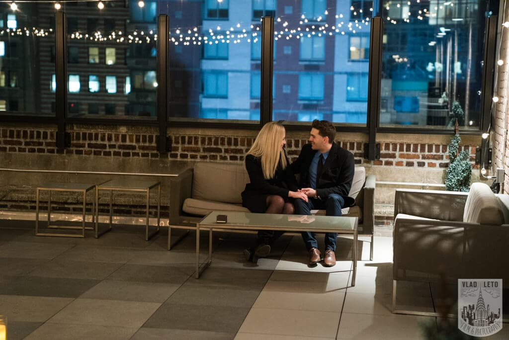 Photo 7 Private Rooftop Proposal with Empire State Building view