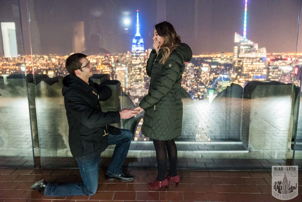 Photo 11 Top of the Rock Marriage Proposal 2