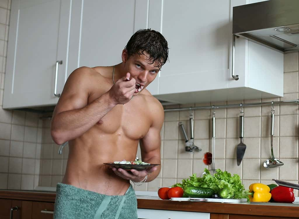 Eat to build muscle
