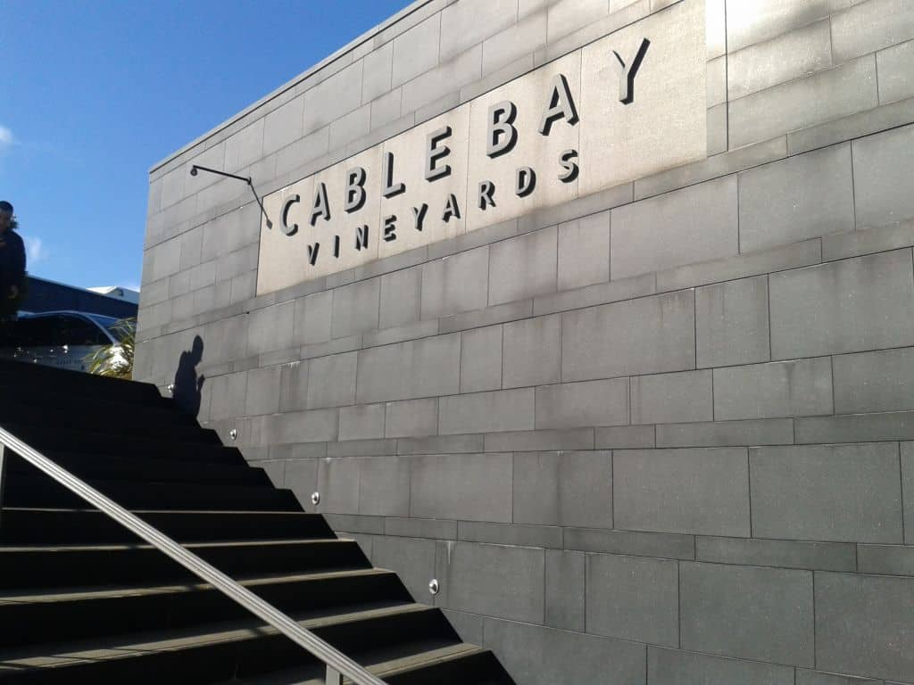 Cable Bay Vineyard - Must be your first stop!