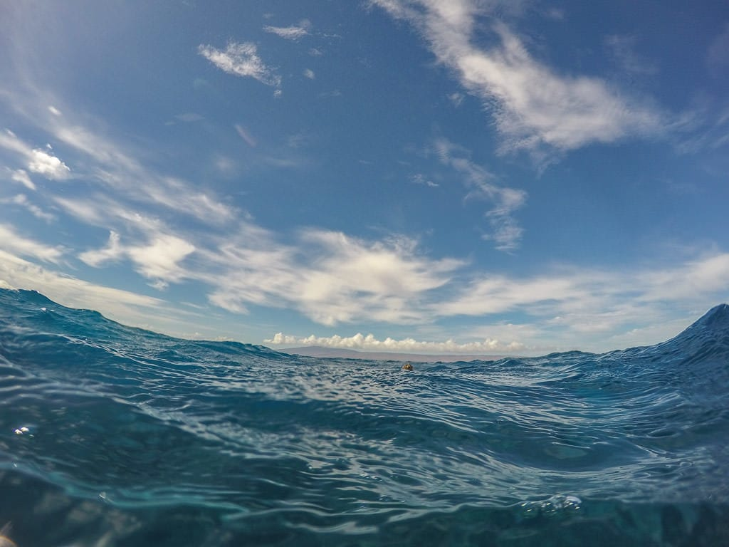 waves why snorkeling in molokai