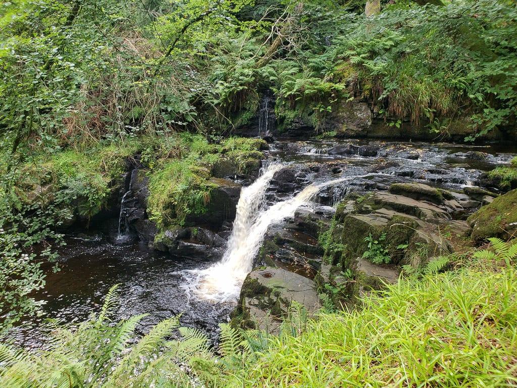 ireland road trip gelnariff waterfall