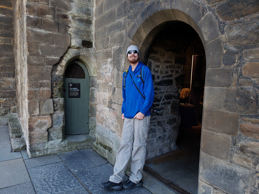 touring Elgin Cathedral near inverness scotland