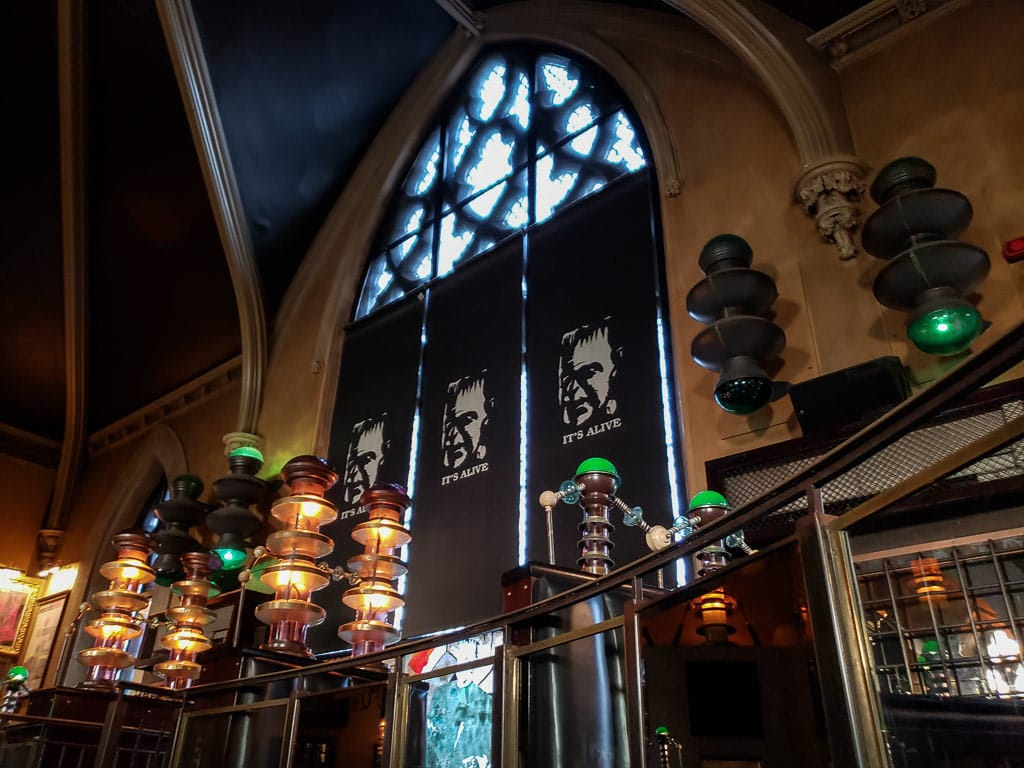 frankenstein restaurant in edinburgh scotland