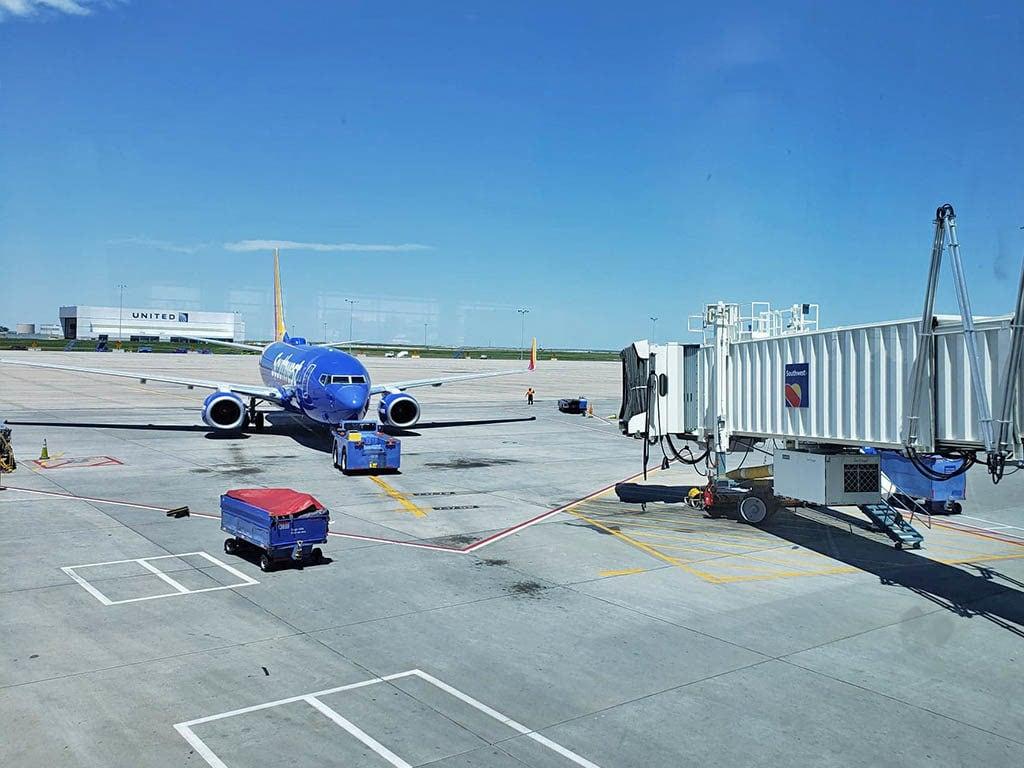 unaccompanied minor flying with southwest