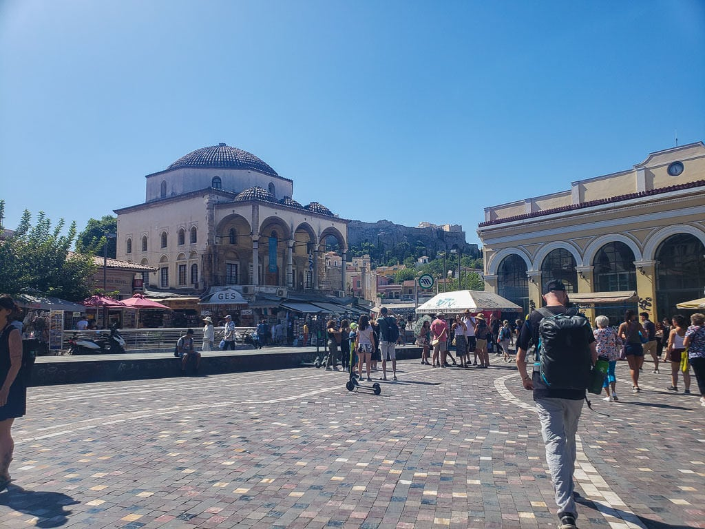 athens on a budget - 24 hours in athens