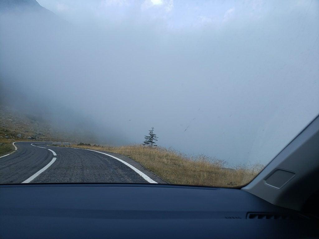 Transfagaren Highway in romania