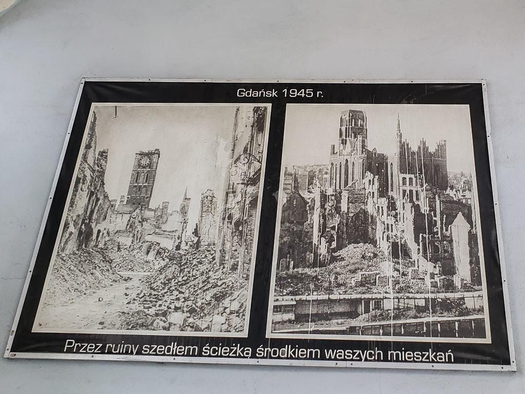gdansk poland ww2 damage