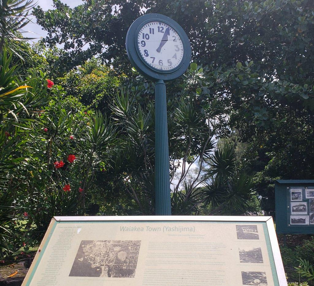 tsunami clock of doom in hilo hawaii