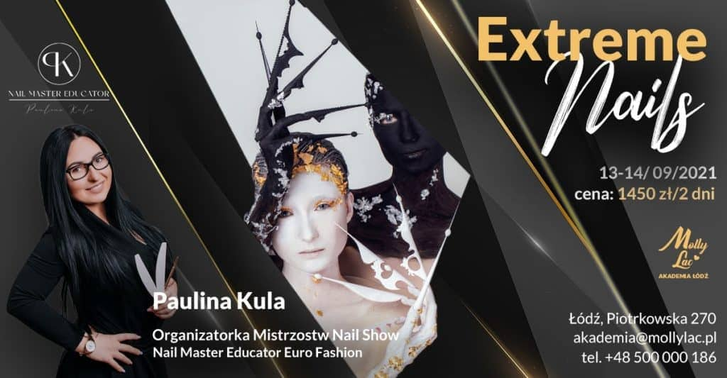 szkolenia z mistrzyniami nail art Paulina Kula