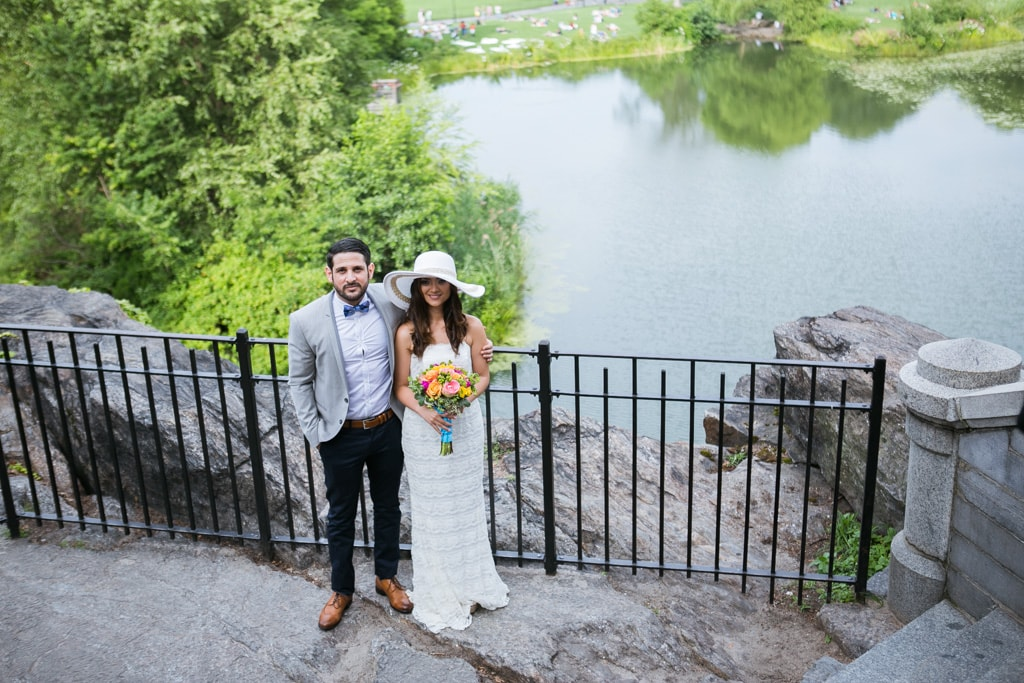 Elopement in NYC on Summer 2020