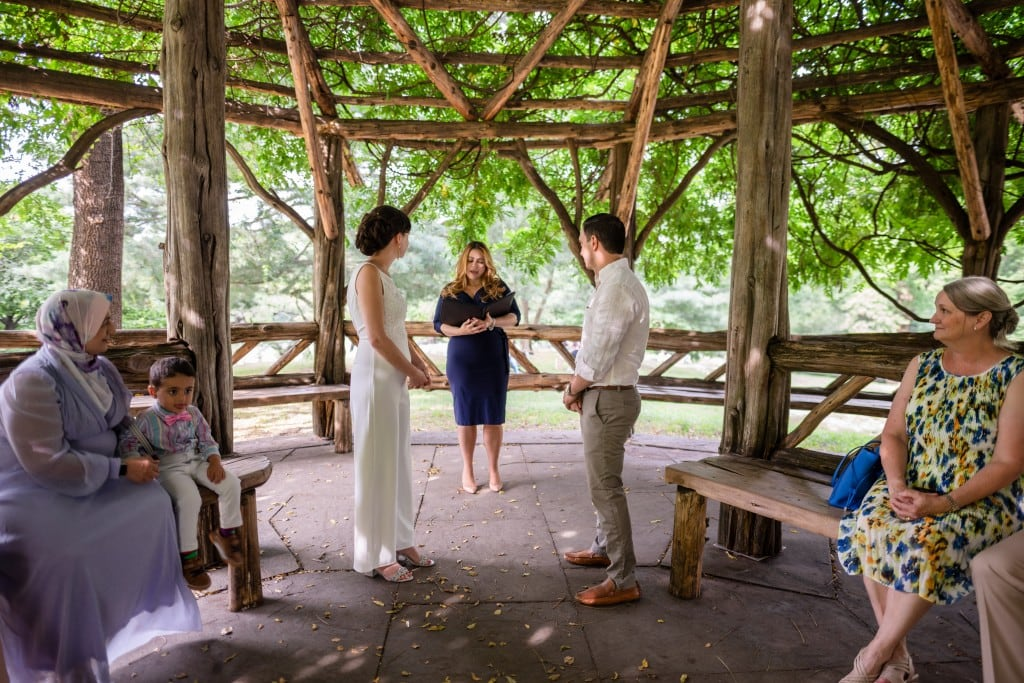 Photo 3 Beautiful  elopement at Cop Cot, Central Park