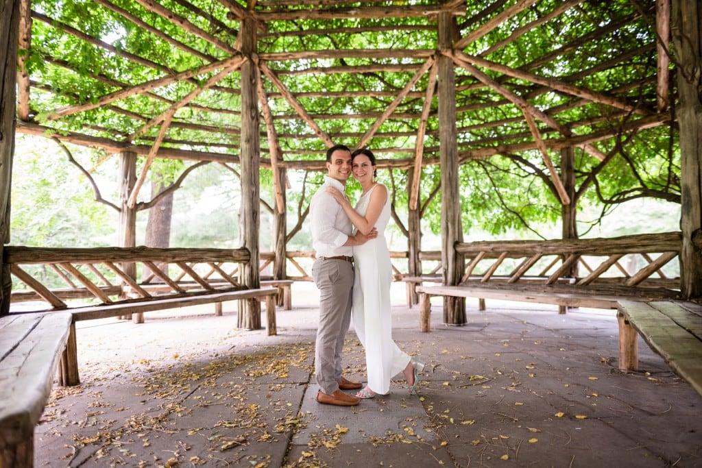 Photo 15 Beautiful  elopement at Cop Cot, Central Park