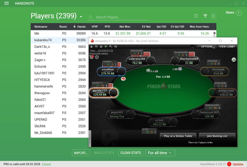 hand2note pokerstars