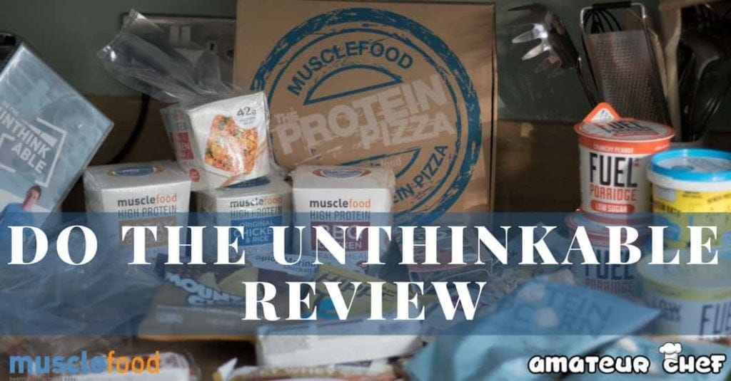 Do the unthinkable review from musce Food | amateurchef.co.uk