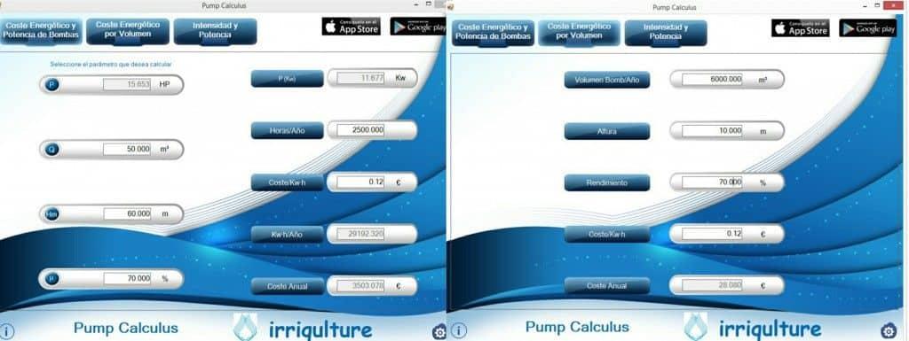 Pump Calculus para Windows