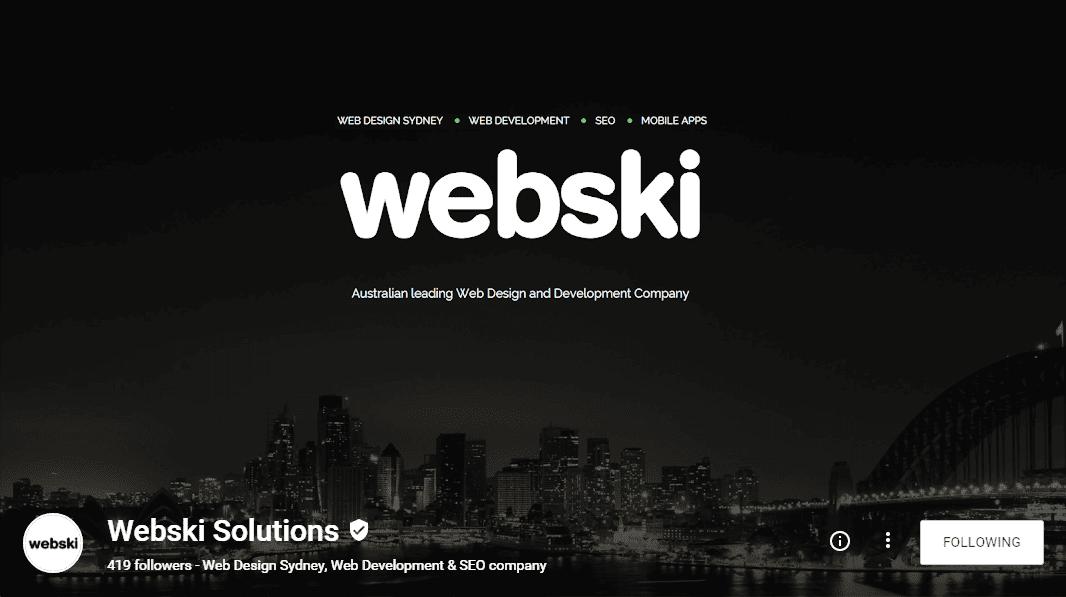 Webski Solutions Google