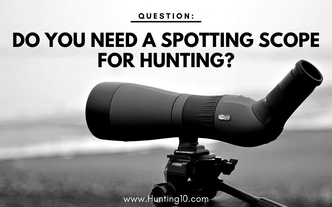 Angled Spotting scope for hunting